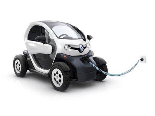 Renault открыл патенты на электрический ситикар Twizy