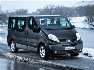 Renault Trafic - renault trafic 2013 вид спереди