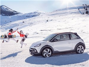 Opel Adam Rocks 2014 вид сбоку