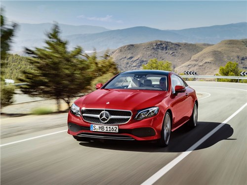 Mercedes-Benz официально представил новое поколение E-Class Coupe