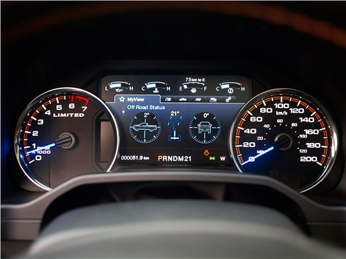 Предпросмотр ford f-150 2016 приборная панель