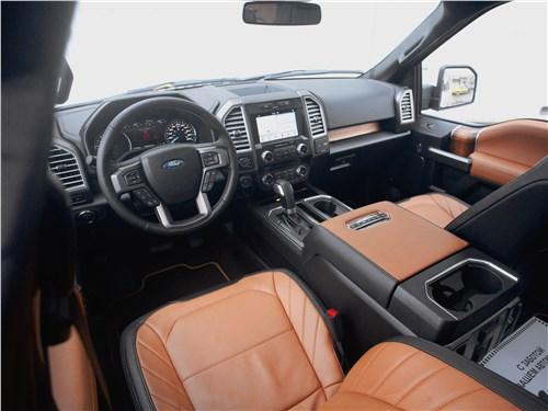 Предпросмотр ford f-150 2016 салон