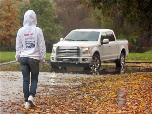 Предпросмотр ford f-150 2016 вид спереди