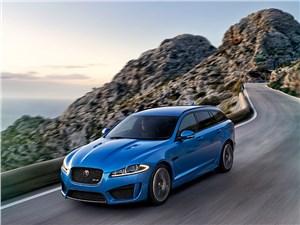 Предпросмотр jaguar xfr-s sportbrake 2014 вид спереди фото 4