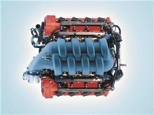 Предпросмотр 8-цилиндровый v-образный двигатель maserati spyder