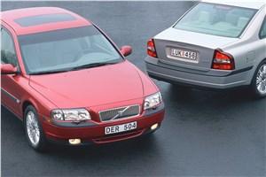 Предпросмотр volvo s80 2000 спереди и сзади фото 2