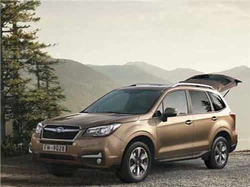 Subaru Forester 2016 модельного года появится в России в мае