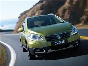 Новый Suzuki SX4 - Suzuki SX-4 2013 вид спереди