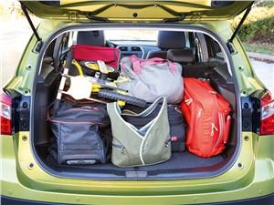 Suzuki SX-4 2013 багажное отделение