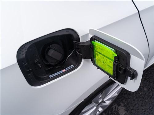 Skoda Rapid 2020 лючок бензобака