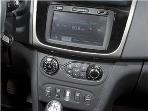 Предпросмотр renault sandero 2014 центральная консоль