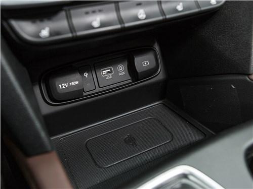Hyundai Santa Fe 2019 розетки