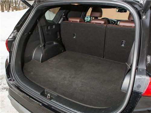 Hyundai Santa Fe 2019 багажное отделение