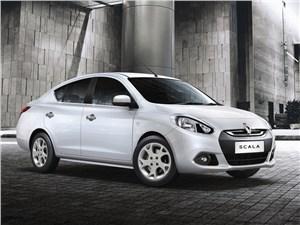 Renault Scala - Renault Scala 2013 вид сбоку