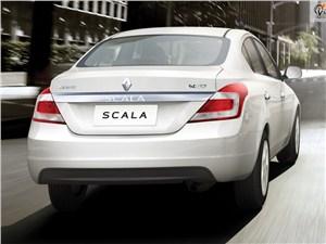 Renault Scala - Renault Scala 2013 вид сзади