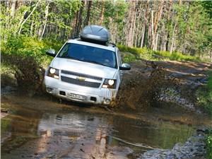 Chevrolet Niva - chevrolet tahoe вид спереди