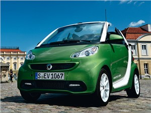 Smart Fortwo Cabrio - smart fortwo ed coupe 2013 вид спереди