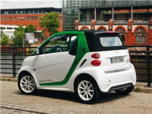 Smart fortwo ED coupe 2013 вид сбоку