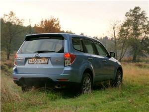 Subaru Forester S-edition 2011 вид сзади