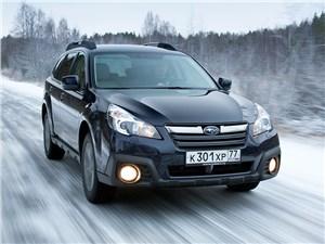 Subaru Outback - subaru outback 2014 вид спереди