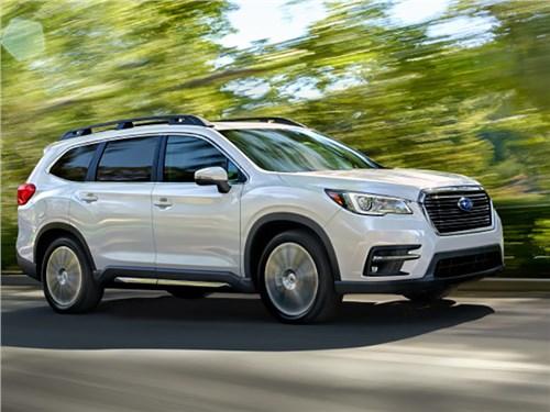 Subaru рассекретила большой 8-местный кроссовер