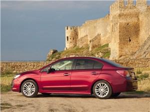 Subaru Impreza 2011 вид сбоку