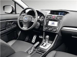 Промежуточное звено (Fiat Panda, Suzuki Ignis, Suzuki Liana, Subaru Impreza) Impreza - Subaru Impreza 2011 водительское место