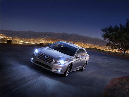 Subaru представила обновленную модификацию седана Legacy