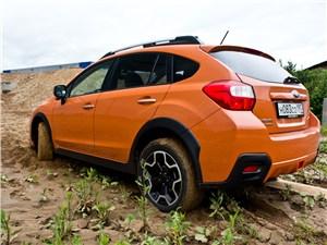 Subaru XV 2012 вид сзади