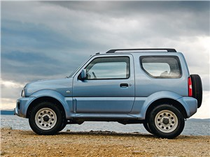 Suzuki Jimny 2013 вид сбоку