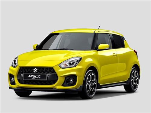 Suzuki привезет в Европу «спортивный» Swift