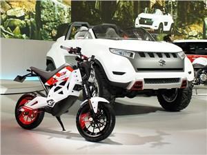 Предпросмотр suzuki x-lander concept 2013 вид спереди 3/4