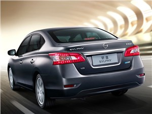 Nissan Sylphy - Nissan Sylphy 2012 вид сзади