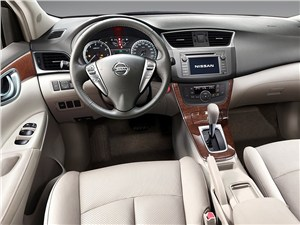 Nissan Sylphy - Nissan Sylphy 2012 салон