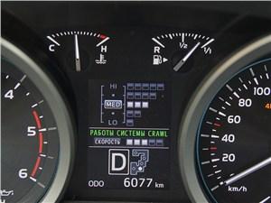 Предпросмотр toyota land cruiser 200 2012 дисплей приборной панели