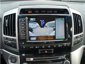 Предпросмотр toyota land cruiser 200 2012 индикация на 8-дюймовом сенсорном дисплее мультимедийной системы