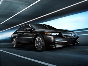 Acura TLX 2015 вид спереди