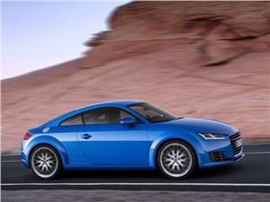 Летом лучше без крыши (Обзор российского рынка открытых автомобилей - 2007) TT - Audi TT 2014 вид сбоку