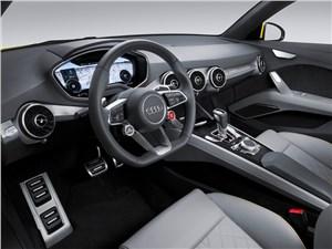 Audi TT Offroad Concept 2014 водительское место