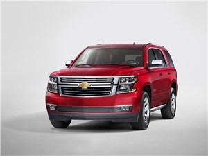 Chevrolet Tahoe 2014 вид спереди 3/4