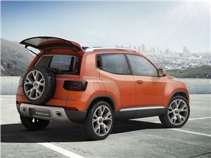 Предпросмотр volkswagen taigun concept 2014 вид сбоку
