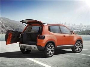 Предпросмотр volkswagen taigun concept 2014 вид сбоку сзади