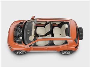 Предпросмотр volkswagen taigun concept 2014 вид сверху