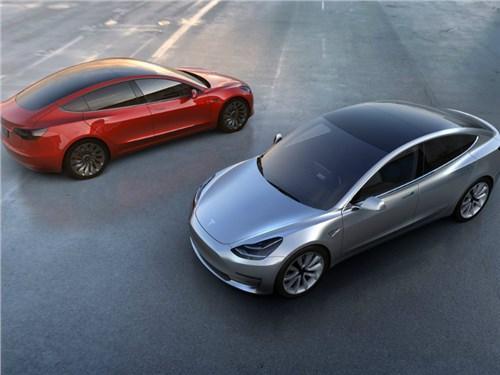 Новость про Tesla Motors Model 3 - Tesla назвала дату начала серийного производства Model 3