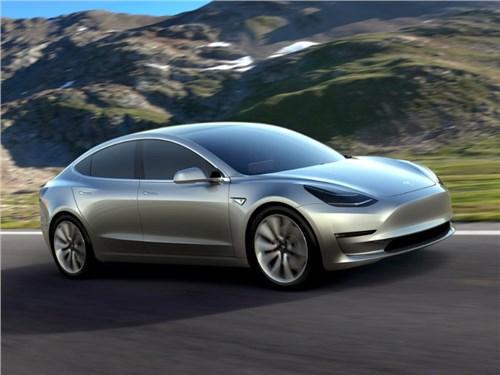 Новость про Tesla Motors Model 3 - Tesla готовится к началу серийного производства своего третьего электрокара