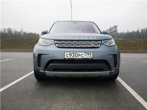 Land Rover Discovery - land rover discovery 2017 цифрой по бездорожью