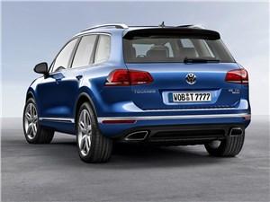 Volkswagen Touareg 2014 вид сзади