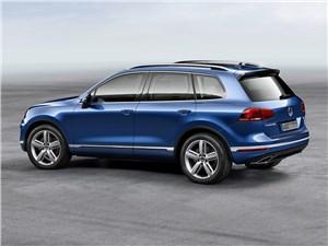 Volkswagen Touareg - Volkswagen Touareg 2014 вид сбоку