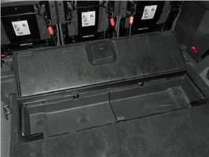 Volkswagen Touran 2011 багажное отделение