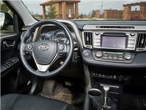 Toyota RAV4 2013 водительское место